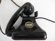 Antique   telephone Leich Co 1920s  Pyramid Working bakelite phone