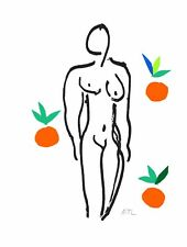 Henri Matisse - Nude with Oranges (signed lithograph, edition of 200)