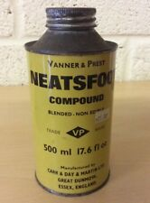Vanner & Prest Neatsfoot Compound, Carr & Day & Martin Ltd, Leather Preservative