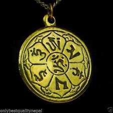 Gioielli etnici e tribali ciondolo in oro in ottone