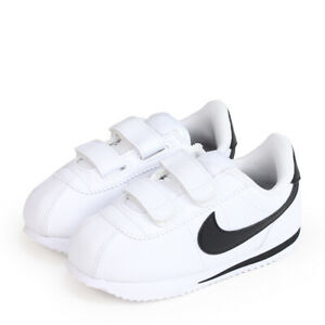 Nike Cortez Basic SL (TDV) Toddler Shoes White/Black  904769 102 Free Shipping