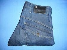 G-Star Raw 3301 Original-W32 L32-Azul Denim Jeans de hombre-Botón-Fly-G307