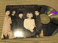LA OREJA DE VAN GOGH - EL LIBRO CD SINGLE PROMOCIONAL  EPIC 1998