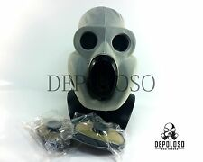 Soviet russian soldier gas mask EO-19 PBF Grey rubber mask full set Size XSmall