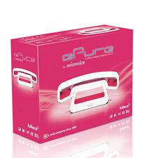 Swissvoice ePure Design Telefon Schnurlos Retro Look weiss-pink NEU & OVP