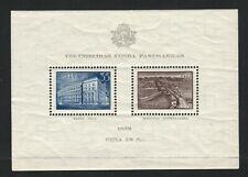 Latvia - Scott #B96 MLH 1938 Souvenir Sheet