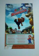Mario Superstar Baseball *VIP CODE* (No Game) Nintendo Gamecube