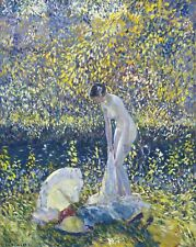 """Frederick C. Frieseke Oil Painting repro Cherry Blossoms 24""""x36"""""""