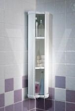 SHOWERLUX STOWAWAY STORAGE CORNER / WALL UNIT BATHROOM CABINET COLLECT SOMERSET