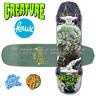 "Creature / Krux / OJ Collaboration Surf Club Custom Cruiser Skateboard 8.2"" SALE"