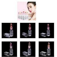 6x Lip Balm Gloss Color Changing Flower Jelly Beauty Lipstick Moisturizing