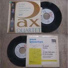 PAX QUARTET - Dis Pourquoi Rare French EP Xian Folk With Languette