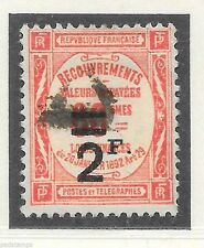 French Used Postage Due Stamps