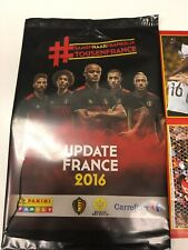 ⚠️🇧🇪introuvable Panini Tous en France 2016 UPDATE Diables Rouges Carrefour