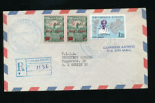 Haiti, Reco-Brief 1969 aus Port au Prince nach Berlin  (H9)