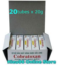 20 Tubes X 20g Cobratoxan - Cobra Snake Venom Cream - Snake Poison
