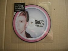"""DAVID BOWIE - HEROES / HEROES - 40TH ANNIVERSARY  7"""" PICTURE DISC - NEW / SEALED"""