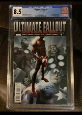 🔥ULTIMATE FALLOUT 4 (CGC 8.5) 1st Print White Pages | 1st App. Miles Morales🔥
