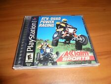 ATV: Quad Power Racing (Sony PlayStation 1, 2000) Used Complete PS1