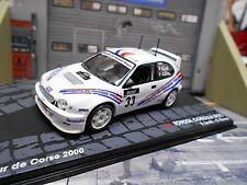 TOYOTA Corolla WRC Rallye 2000 Tour de Corse #33 Loeb RARE Altaya IXO SP 1:43