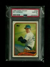 Bill Wegman 1989 Topps TIFFANY #768 PSA 10 GEM MINT! Pop.1! Milwaukee Brewers SP