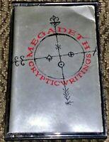 Megadeth – Cryptic Writings. VG Cassette Tape Thrash/Heavy Metal Bulgaria