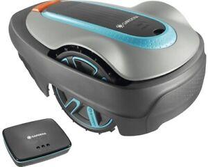 GARDENA Smart Sileno City 450 Mähroboter inkl. Gateway- Kompatibel mit SMART HOM