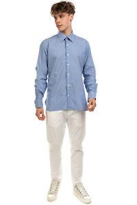 ALV ANDARE LONTANO VIAGGIANDO Shirt Size 43 XL Two Tone Striped Regular Collar