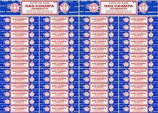 54 Boxes 15 Grams Each Nag Champa Incense Satya Sai Baba 2017 Series 810 Gram
