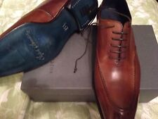 NEW Stefano Branchini HAND MADE IN ITALY Shoes LACE- UP size 9 1/2 US EU 8 1/2