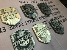 """Judge Dredd 3"""" Movie Badge High Quality Reproduction Cold Cast"""