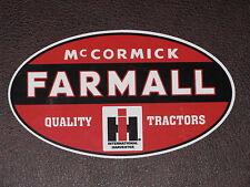 Farmall Vinyl Sticker Decal International Harvester McCormick Hi Tractor Mower