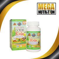 Garden of Life Vitamin Code Kids Whole Food Multivitamin Cherry Berry 60 Bears