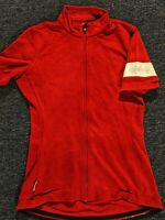 Rapha Classic Cycling Jersey Red Women's Size 10 (M)