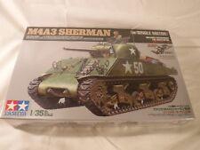 1/35 Tamiya Motorized US Tank M4A3 Sherman w/ Single Motor Decals Ardenes FSBox
