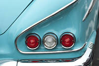 1950s Chevy 1 Chevrolet Vintage 24 Sport Car 64 Metal 18 Carousel Turquoise 12