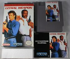 Lethal Weapon (Nintendo NES) Complete in Box GREAT Shape