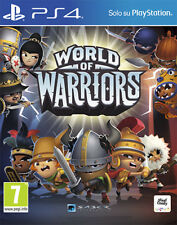 World Of Warriors PS4 Playstation 4 IT IMPORT SONY COMPUTER ENTERTAINMENT