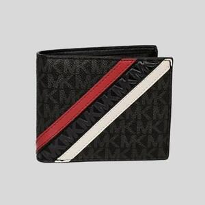 Michael Kors Cooper Billfold Wallet With Passcase # 36U0LCOF2B