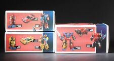 TFC Trinity Force Raging Bull Wildhunter Red Knight Set of 3 Figure