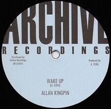 "ALLAN KINGPIN - WAKE UP 12"" BACK IN STOCK!!"