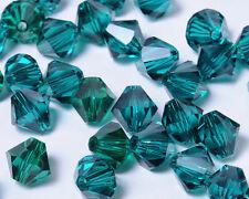 Bicone Beads Swarovski Crystal Emerald Green 4mm x 25pcs