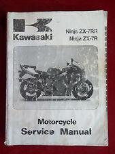 Service Manual Kawasaki 1996 Ninja ZX-7RR Ninja ZX-7R ZX750-N1 P1 K588