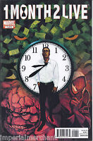 1 Month 2 Live Comic Issue 1 Modern Age First Print 2010 Remender Mutti Lamphear