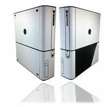 Textured White Carbon Skin Sticker For XBOX 360 E Super-Slim Decal Cover Wrap