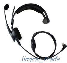Heavy Duty Overhead Headset for Motorola GP300 CP200 HYT TC600 TC700 w. boom mic