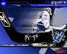 Maple Leafs J.S. GIGUERE Signed Player Brand Stick