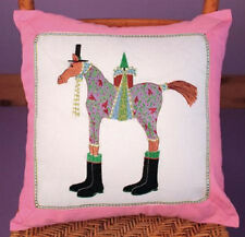Patience Brewster MARCEL HORSE Pillow Krinkles CUTE! NEW!