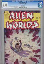 Alien Worlds 3 CGC 9.8 1983: Alien gopher!