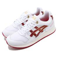 Asics Tiger Gel-SAGA White Speed Red Gold Mens Womens Running Shoes 1191A231-100